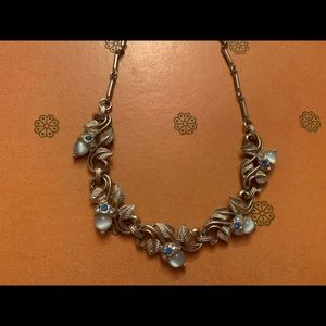 Vintage Blue and Silver Necklace